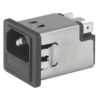 5200, SGE GST, PG06, Kombielement Frontplatte 10A mit Filter