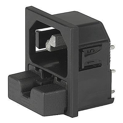 Sicherungshalter, SGE GST, PG05, Einzelelem zu Kombielement Leiterplatte Felcom s/w