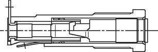 Berührungsschutz geschlossener G-Sicherungsh.A